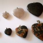 Granit hjerte – mindst